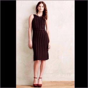 ANTHROPOLOGIE Dress Maeve Cocoa NWT XS